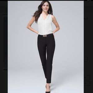 White House Black Market Slim Ankle Pant - 14L